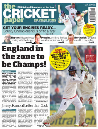 The Cricket Paper 7th April 2017