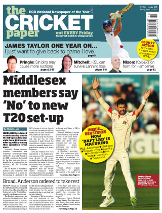 The Cricket Paper 14th April 2017