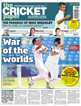 The Cricket Paper 21st April 2017