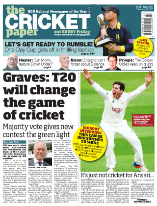 The Cricket Paper 28th April 2017