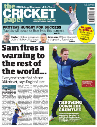 The Cricket Paper 5th May 2017