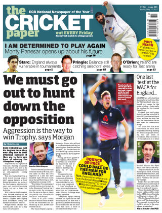 The Cricket Paper 12th May 2017