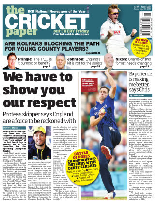 The Cricket Paper 19th May 2017