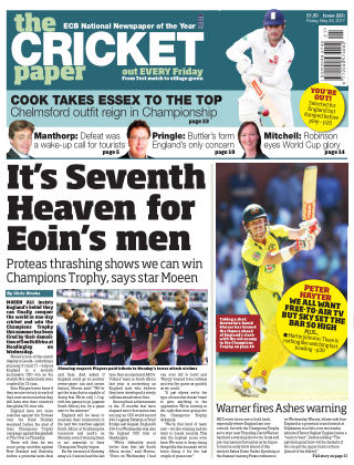 The Cricket Paper 26th May 2017