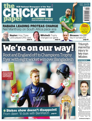 The Cricket Paper 2nd June 2017