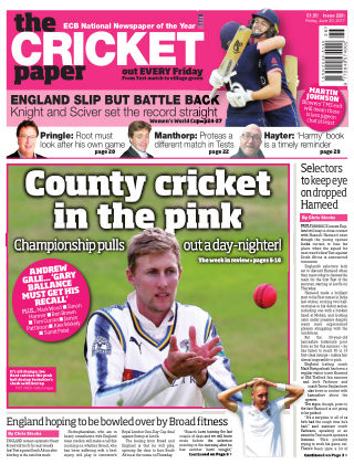 The Cricket Paper 30th June 2017