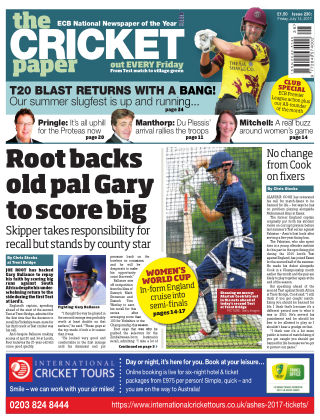 The Cricket Paper 14th July 2017