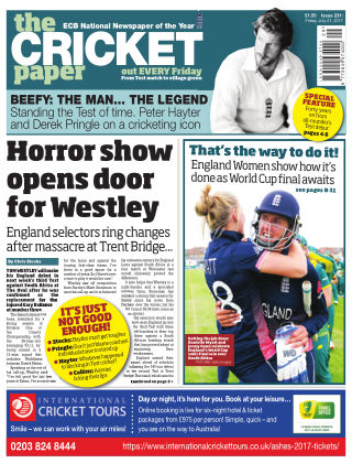 The Cricket Paper 21st July 2017