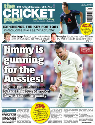 The Cricket Paper 4th August 2017