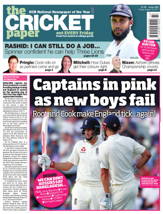 The Cricket Paper 18th August 2017
