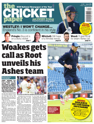 The Cricket Paper 25th August 2017