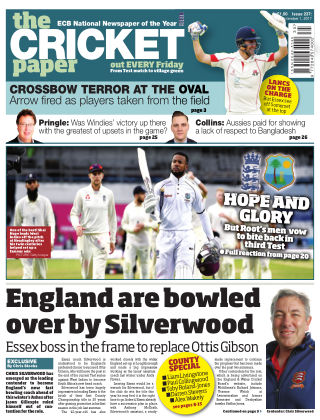 The Cricket Paper 1st September 2017