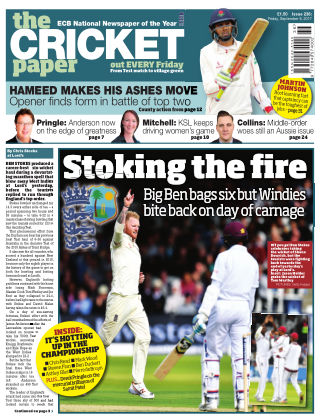 The Cricket Paper 8th September 2017