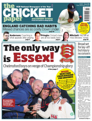 The Cricket Paper 15th September 2017
