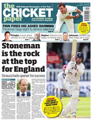 The Cricket Paper 22nd September 2017