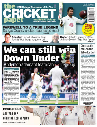 The Cricket Paper 6th October 2017
