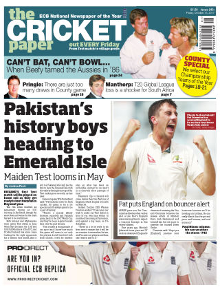 The Cricket Paper 13th October 2017