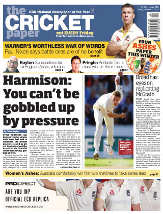 The Cricket Paper 27th October 2017