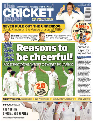The Cricket Paper 10th November 2017