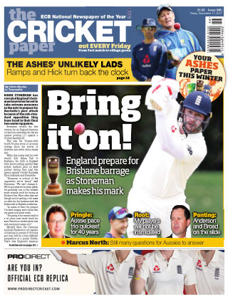The Cricket Paper 17th November 2017