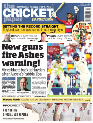 The Cricket Paper 24th November 2017
