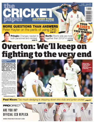 The Cricket Paper 8th December 2017