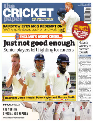 The Cricket Paper 22nd December 2017