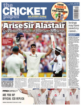 The Cricket Paper 29th December 2017