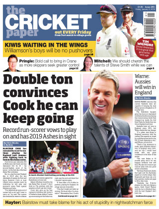 The Cricket Paper 5th January 2018