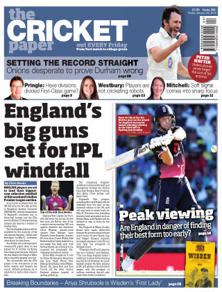 The Cricket Paper 26th January 2018
