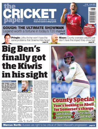 The Cricket Paper 9th February 2018