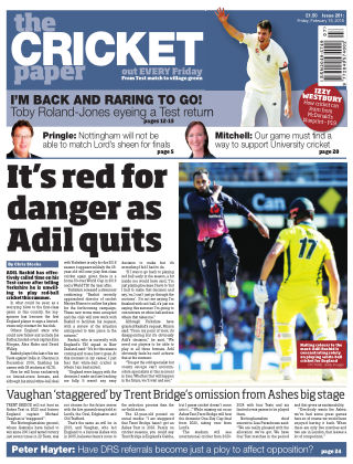 The Cricket Paper 16th February 2018