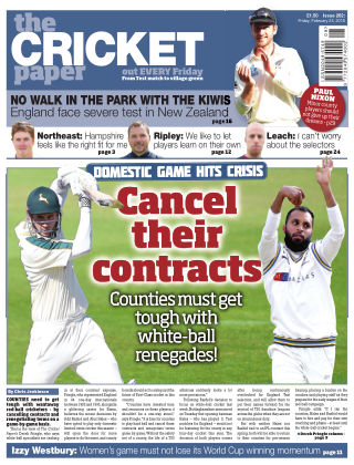 The Cricket Paper 23rd February 2018