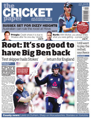 The Cricket Paper 2nd March 2018