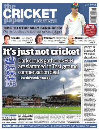 The Cricket Paper 9th March 2018