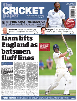The Cricket Paper 16th March 2018