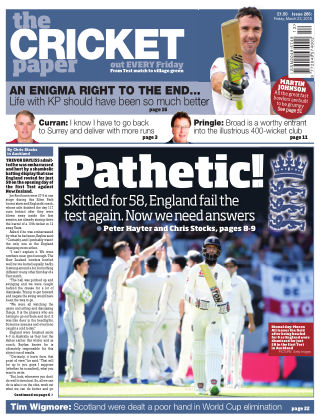 The Cricket Paper 23rd March 2018