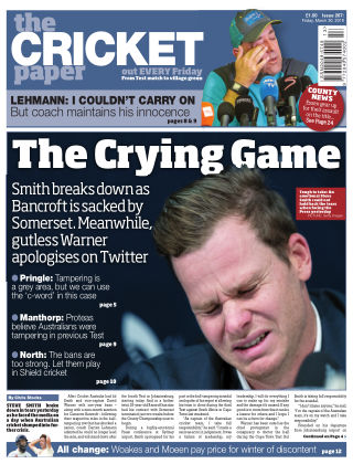 The Cricket Paper 30st March 2018