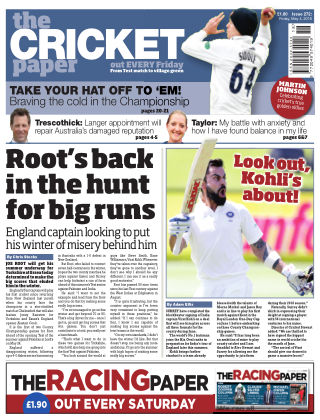 The Cricket Paper 4th May 2018
