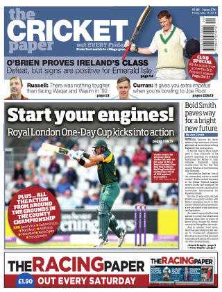 The Cricket Paper 18th May 2018