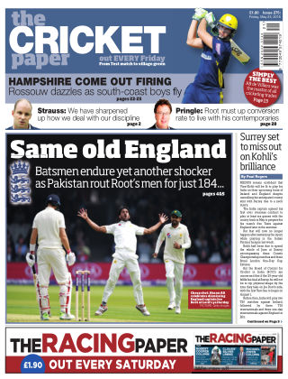 The Cricket Paper 25th May 2018