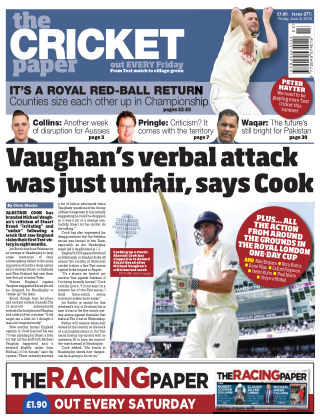 The Cricket Paper 8th June 2018