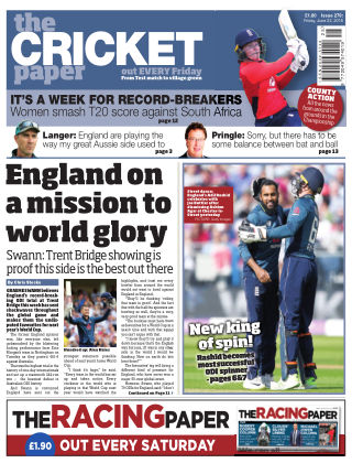 The Cricket Paper 22nd June 2018