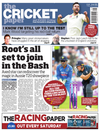 The Cricket Paper 13th July 2018