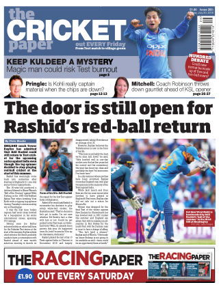 The Cricket Paper 20th July 2018