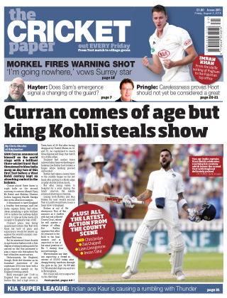 The Cricket Paper 3rd August 2018