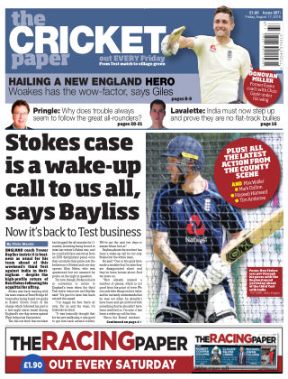 The Cricket Paper 17th August 2018