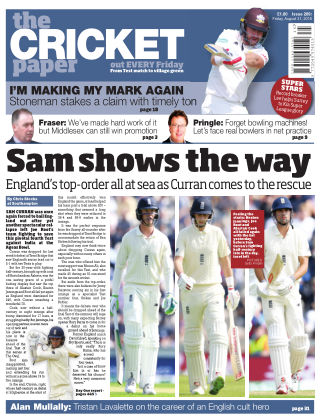 The Cricket Paper 31nd August 2018