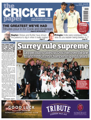 The Cricket Paper 14th September 2018