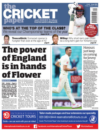 The Cricket Paper 5th October 2018